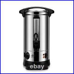 10 L Commercial Catering Kitchen Hot Water Boiler Tea Urn Coffee Stainless Steel
