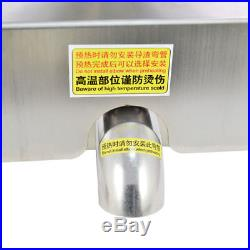 110V Commercial Automatic Oil Press Stainless Steel Extraction Machine Oil Mill