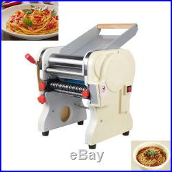 110V Stainless Steel Electric Pasta Press Maker Noodle Machine Commercial Home