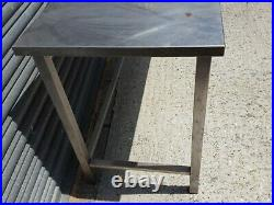 150x60cm Stainless Steel Commercial Catering Table Kitchen WorkTop Prep Table