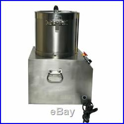 17L Stainless Steel Electric Commercial Processor Chopper Grinder Dicer 110 Cook