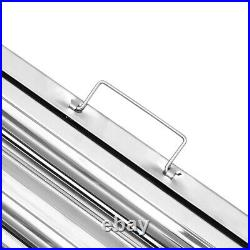 1, 2, 6FILTERS Commercial Baffle Grease Filter Stainless Steel Canopy Extraction