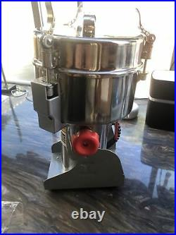 2000g Commercial Electric Stainless Steel Grain Grinder HC-2000Y Mill Spice 110v
