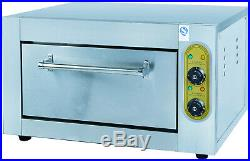 3.6kW Commercial Professional Kitchen Stainless Steel Electric Baking Oven