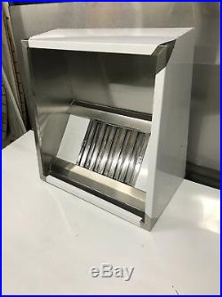 3ft STAINLESS STEEL COMMERCIAL KITCHEN CANOPY EXTRACTOR HOOD 900 x 1000 mm