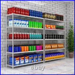 4-5 Tier Stainless Steel Kitchen Shelf Commercial Shelving Unit Storage Rack