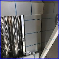 4ft STAINLESS STEEL BRUSHED FINISH COMMERCIAL KITCHEN CANOPY 1200mm x 1000mm