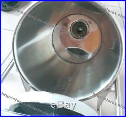 5L Commercial Manual Stainless Steel Hand Crank Horizontal Churros Machine Maker