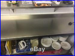 5x Stainless Steel Commercial Kitchen Stands
