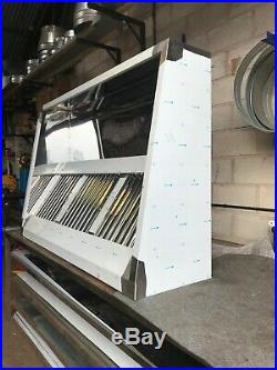 6ft stainless steel commercial kitchen canopy