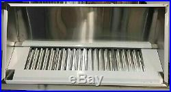 9ft Stainless Steel Commercial Kitchen Canopy Cooker Hood Extraction Hood