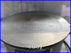 Buffalo Electric Crepe Maker 410mm Surface Stainless Steel Catering Commercial