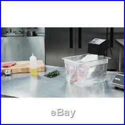 Buffalo Portable Sous Vide 1500W Stainless Steel Commercial Foods Cooker Kitchen