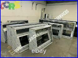CCRS Ltd Commercial Kitchen Stainless Steel Canopy Kits