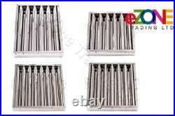 Canopy Baffle Grease Filter Stainless Steel Commercial Kitchen Extraction Hood