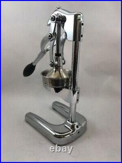 Cilio Commercial Silver Citrus Juicer Hand Press Fruit Extractor Stainless Steel