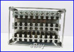 Clearance Price30pcs Holes Stainless Ice Cream Mould for Commercial etc. New