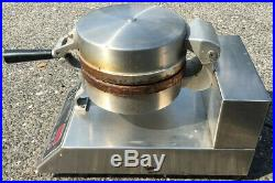 CoBatCo MD10SSE-L Commercial Stainless Steel Single Waffle Cone Maker
