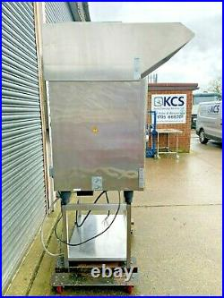 Combi Oven 10 Grid Hood Rational SCCW101E 3Phase ReconditionedCatering Equipment