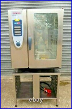 Combi Oven 10 Grid Rational SCC101E Elec 3Phase Reconditioned Catering Equipment