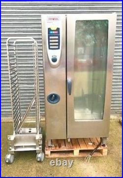 Combi Oven 20 Grid Rational SCC201E Elec 3Phase Reconditioned Catering Equipment