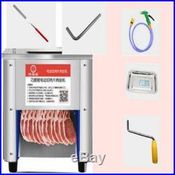 Commercial 220V 850W Stainless Steel Meat Cutting Machine Tool Cutter Slicer