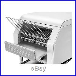 Commercial Buffet Conveyor Bread Toaster Large And Fast Stainless Steel 2200w
