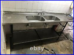 Commercial Catering Kitchen Stainless Steel Sink