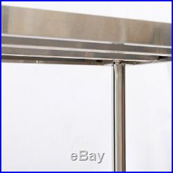 Commercial Catering Kitchen Stainless Steel Table Work/Wall Shelf Bench Worktop