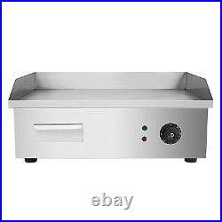 Commercial Electric Griddle 22 Countertop Stainless Steel Hotplate Kitchen BBQ