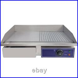 Commercial Electric Griddle Kitchen Hotplate Countertop Plancha BBQ Grill Bacon