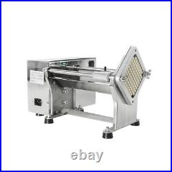 Commercial Electric Potato Vegetable Cutter Stainless Steel Blade chopper 60W