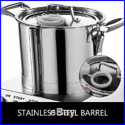 Commercial Grade Food Processor 1400 RPM Kitchen Fritter Stainless Steel