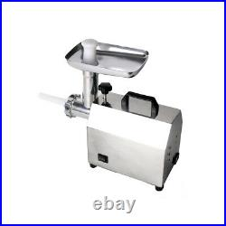 Commercial Household Electric Meat Grinder Sausage Stuffer Stainless 140W 25KG/H