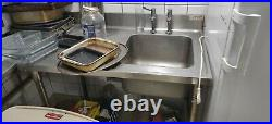 Commercial Industrial 1000mm Stainless Steel Kitchen Sink