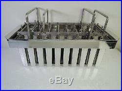 Commercial Industrial Stainless Steel Ice Cream Popsicle Mold Molde De Paletas