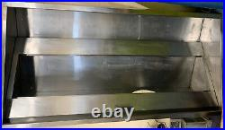 Commercial Kitchen Canopy/Extraction Hood Stainless 2.3m