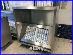 Commercial Kitchen Extraction Canopies/Hoods Extraction Fan stainless steel hood