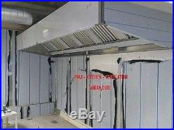 Commercial Kitchen Extraction Canopy 8 foot Stainless Steel Catering