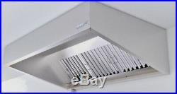 Commercial Kitchen Extraction Hood 1800mm Kit
