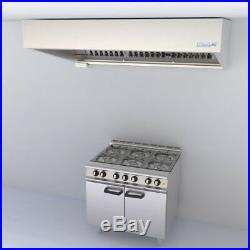 Commercial Kitchen Extraction Hood 2000mm Kit