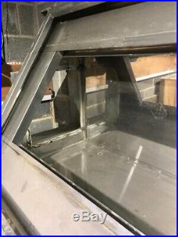 Commercial Kitchen Extractor Cooker Hood Canopy Stainless Steel 2300mm (7 6)