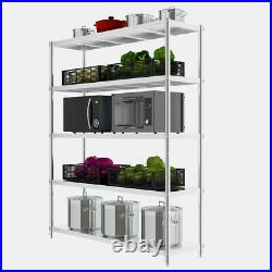Commercial Kitchen Shelf Stainless Steel Storage Rack Catering Shelving Unit UK