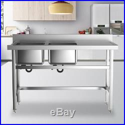 Commercial Kitchen Sink Catering Bowl Basin DEEP POT Stainless Steel Sinks Wash