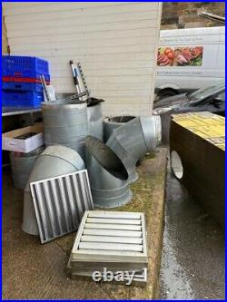 Commercial Kitchen Stainless Extraction Hood, Fan, Speed Control