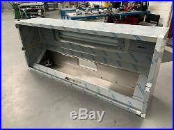 Commercial Kitchen Stainless Steel Canopy (2.4m x 1m x 0.5m deep)