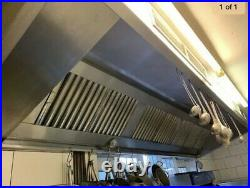 Commercial Kitchen Stainless Steel Canopy hood