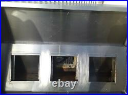 Commercial Kitchen Stainless Steel Canopy hood 6ft/1.8 metre extractor canopy