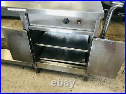 Commercial Kitchen Stainless Steel Kitchen Counter Work Table & Food Warmer