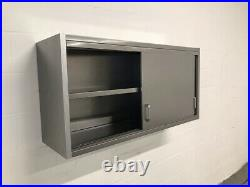 Commercial Kitchen Stainless Steel Wall Cupboard 1m
